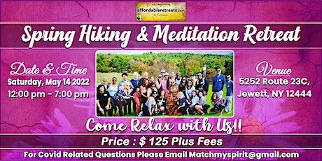 Spring Hiking & Meditation Retreat in the Catskills! tickets