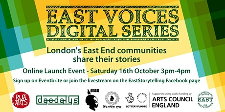 East Voices Digital Series Online Launch Event tickets