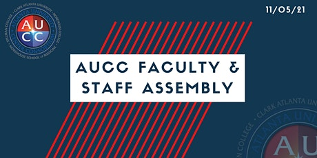 AUCC Faculty and Staff Assembly tickets