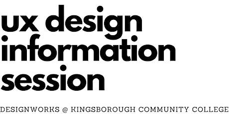 UX Design Program Information Session tickets