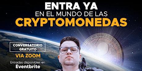 Entra YA en el mundo de las criptomonedas tickets