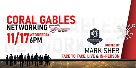 Free Coral Gables Rockstar Connect Networking Event (November, near Miami) tickets