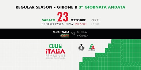 Club Italia CRAI vs. Anthea Vicenza biglietti
