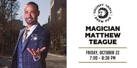 Magician Matthew Teague tickets