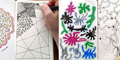 Doodle diaries - relaxing drawing games for winding down biglietti