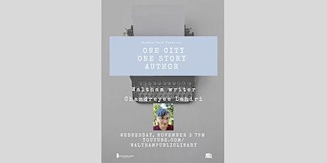 BBF One City One Story with Waltham author Chandreyee Lahiri tickets