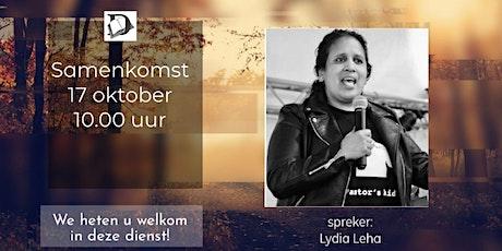 Samenkomst Zondag 17 Oktober tickets