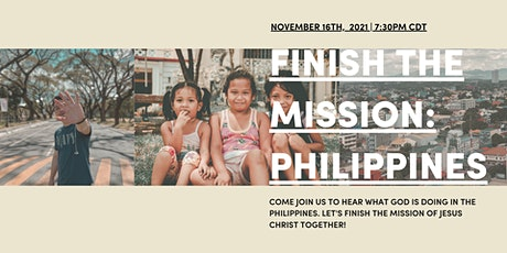 Finish The Mission: Philippines tickets