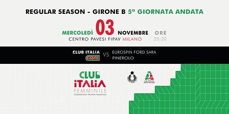 Club Italia CRAI vs. Eurospin Ford Sara Pinerolo biglietti