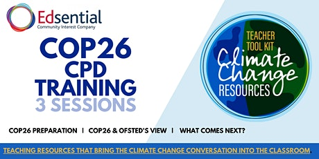 COP26 - CPD for Teachers tickets