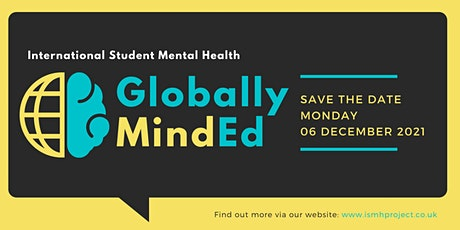 Globally MindEd - International Student Mental Health & Wellbeing tickets