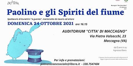 Paolino e gli spiriti del fiume | Spettacolo per bambini biglietti