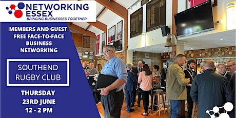(FREE) Networking Essex Southend Thursday 23rd June 12pm-2pm tickets