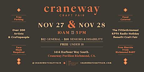 Craneway Craft Fair - the 50th Annual KPFA Holiday Benefit Craft Fair tickets