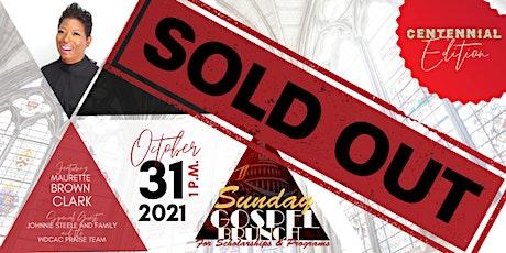 WDCAC DST Sunday Gospel Brunch: Centennial Edition tickets