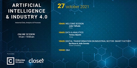Artificial Intelligence & Industry 4.0 Tickets