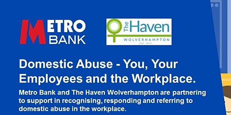 Domestic Abuse - you, your employees and the workplace. tickets
