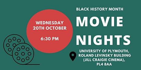 BLACK HISTORY MONTH PLYMOUTH: Movie Nights tickets