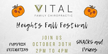 Houston Heights Fall Festival tickets