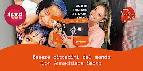 4passiFestival | Annachiara Sarto – Essere cittadini del mondo biglietti