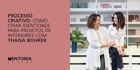 Mentoria At Home com Thaisa Bohrer ingressos