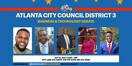 Atlanta District 3 City Councilman Debates tickets