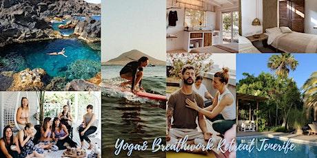 Yoga / Atemarbeit/ Surf Reise -  Island of Bliss - Teneriffa tickets