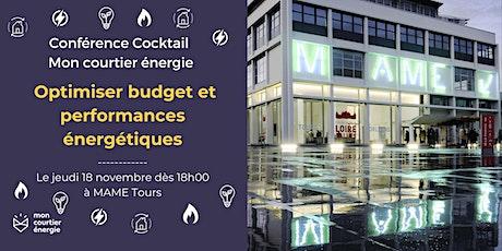 Conférence  Cocktail - Optimiser budget et performances énergétiques billets