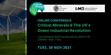 Online Conference: Critical Minerals & The UK's Green Industrial Revolution Tickets