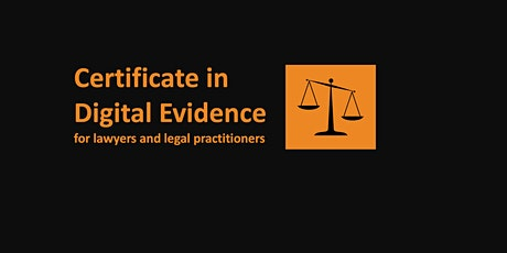 Digital Evidence for Lawyers tickets