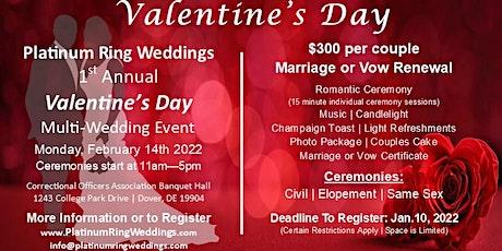 1st Annual Valentine's Day Wedding Event tickets