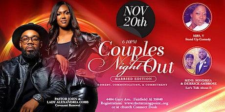 Couples Night Out (Marriage Edition) tickets