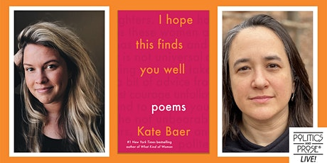 P&P Live! Kate Baer | I HOPE THIS FINDS YOU WELL with Chloe Yelena Miller tickets