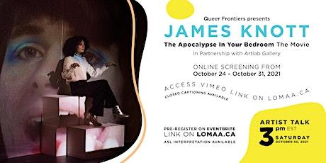 Queer Frontiers: James Knott Artist Talk tickets