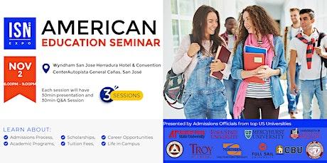 Study in the USA Seminar - San Jose boletos