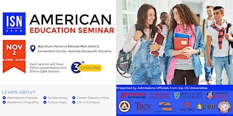 Study in the USA Seminar - Panama City tickets