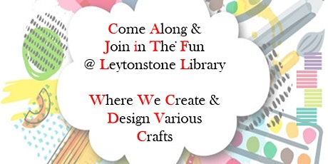 Craft Session @ Leytonstone Library tickets