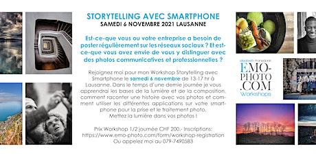 Workshop Storytelling avec Smartphone billets