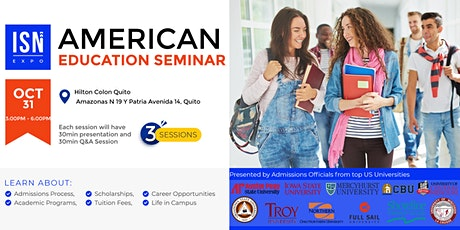Study in the USA Seminar - Quito tickets