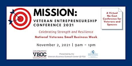 Mission: Veteran Entrepreneurship Conference 2021 (VIRTUAL) tickets