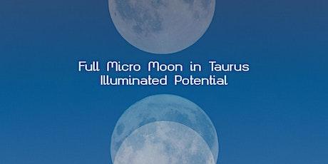Full Moon in Taurus | Illuminated Potential tickets
