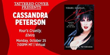 Live Stream with Cassandra Peterson: Yours Cruelly, Elvira tickets