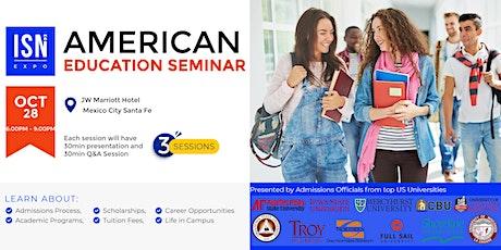 Study in the USA Seminar - Mexico City tickets