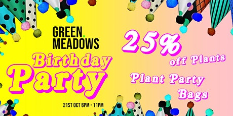 GREEN. MEADOWS - Birthday Party tickets