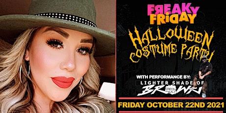 Miriah Avila Birthday Bash & Lighter Shade of Brown Halloween Costume Party tickets
