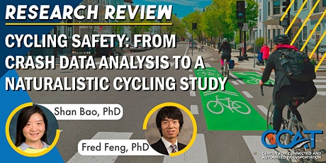 Cycling Safety: From Crash Data Analysis to a Naturalistic Cycling Study tickets