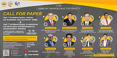 Lambung Mangkurat University Call For Paper - 2nd IFBE & 7th ISWEM entradas