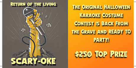 Return of the Living Scary-oke tickets