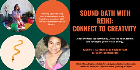Sound Bath with Reiki: Connect to your creativity tickets
