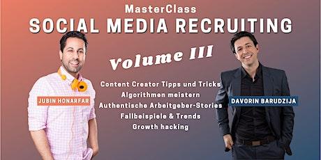 MasterClass Social Media Recruiting - Vol. III boletos